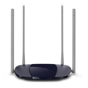 Wifi Repeater High Speed 100M Fiber 300Mbps Wireless Wifi Router One-click Enhancement Wifi High Gain 4 Antenna