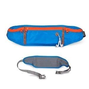 Polyester  Waterproof Running Belt Outdoor Sports Waist Bag Phone Case for 6 inch Smartphone