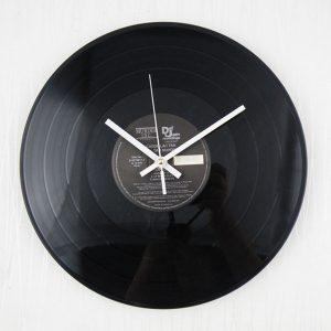 12 tums retro klassisk vinyl fonograf Record Album väggklocka heminredning gåva