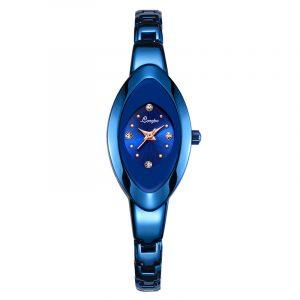 LONGBO 80460 Crystal Dial Waterproof Women Quartz Watch