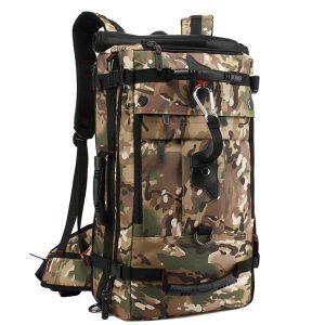 KAKA 40L multifunktionella män bergsbestigning Oxford ryggsäck Casual Travel Crossbody Bag