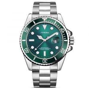 SINOBI 9721 Calendar Business Style Watch Men Quartz Watch