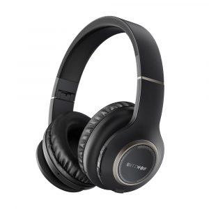 Blitzwolf® BW-HP0 Trådlöst Bluetooth-hörlurar Bärbara, hopfällbara stereo-musikheadset med örat över örat med mikrofon