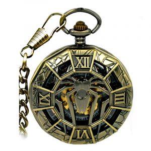 JIJIA JX001 Big Spider Mechanical Watch Pocket Watch