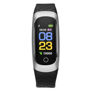 Bakeey 0.96 inch Heart Rate Blood Pressure Sport bluetooth Smart Wristband for Mobile Phone