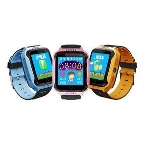 Bakeey 1,44 tum Pekskärm SOS GPS LBS LocationTracker Ficklampa Pedometer Barn Smart Watch