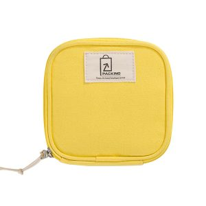 Women Data Wire Cosmetics Travel Storage Bag