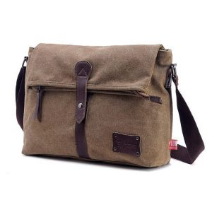 Canvas Men Casual Messenger Outdoor Shoulder bag Crossbody Bag