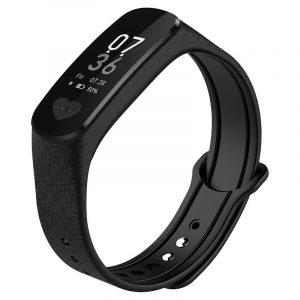KALOAD B9 EKG Hjärtfrekvens Blodtrycksmätare IP67 Vattentätt Smart Armband för Android IOS