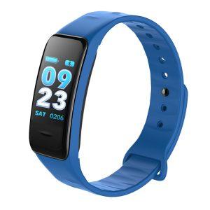 KALOAD C1S Color Screen Heart Rate Blood Pressure Oxygen IP67 Waterproof Smart Bracelet
