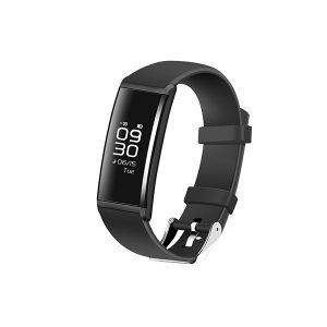 KALOAD HR10 Smart armband Hjärtfrekvens Blodtryck Oxygen Monitor Vattentät klocka för Android IOS
