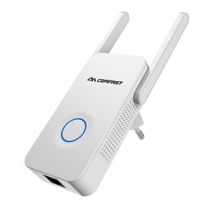 Comfast WR752AC 1200M Wireless Wifi Repeater Dual Band External 2 Antennas AP Router Signal Extender