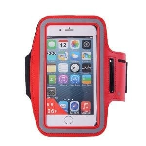 6inches Cell Phone Universal Waterproof Sports Running Armband Cell Phone Holder