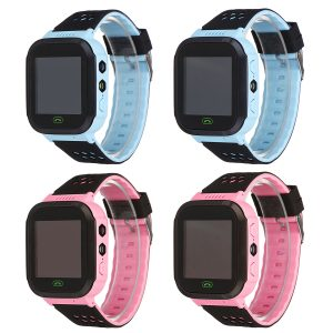 Bakeey Vattentät Tracker SOS Ring Barn Smart Watch för Android IOS