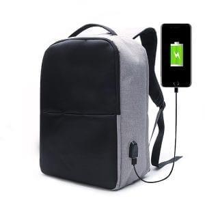 Ekphero Men Anti Theft Backpack Waterproof Travel Bag