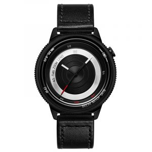 BREAK T45 Unik stil Unisex klocka läder eller gummi rem kvarts armbandsur