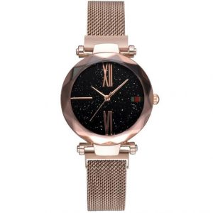 Fashion Star Magnetic Milanese Steel Band Women's Quartz Watch
