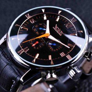JARAGAR GMT954 Luminous Hands Automatic Mechanical Watches
