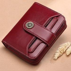 Brenice Retro äkta korthållare plånbok