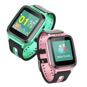Bakeey Y12 1.44' GPS Ttacker LBS Location Voice Chat SOS Call Flashlight Children Kids Smart Watch