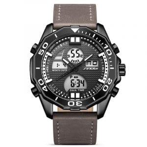 SINOBI 9730 Män Lysande display Dual Display Digital Watch