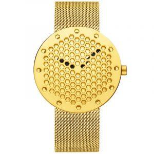 CRRJU 2143 Creative Hollow Dial Design Quartz Watch