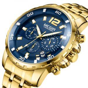 MEGIR 2068G Luminous Chronograph Men Quartz Watch