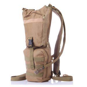 Herrar Nylon Camelbak Ryggsäck Taktisk Hydration Pack med 3L urinblåsa för vandring, cykling, klättring