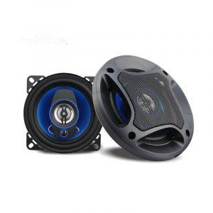 2 Stk 4 Tums PZ-4062B 50W 3-vägs koaxial bilhögtalare HIFI stereoljud PP Gummi Surround Headset