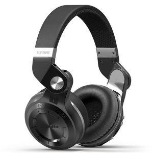 Bluedio T2 Plus hopfällbar Bluetooth-hörlurar BT 5.0 Stöd FM-radio Micro Sd-kort Musik telefonsamtal