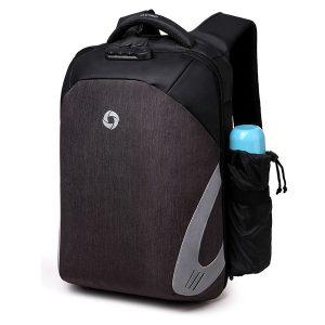 Oxford USB-laddning vattentät 16-tums bärbar ryggsäck