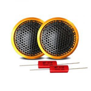 1 set High-end Wired Car Tweeter 1 Inch 40W PZ-G25 Högtalare Basljud Lätt högtalare