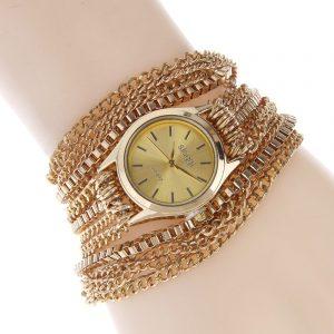 SLOGGI Retro zinklegering armband kvinnor kvarts klocka