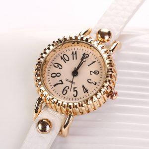 Mode Damklänning Klocka Armband Quartz Watch