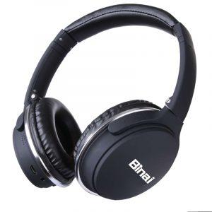 Binai New-35t Hifi Wireless bluetooth Headphone Noise Cancelling Stereo Headset for iPhone 8 Xiaomi