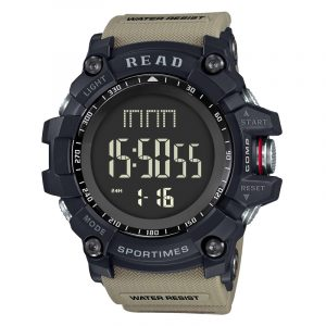 READ R90002 Multifunction Luminous Stopwatch Digital Watch