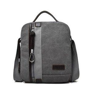 Canvas Waterproof Crossboby Bag Leisure Vintage Single-Shoulder Bag Handbag For Men