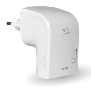 MECO AC750 2,4 GHz 5 GHz Dual Band 750 Mbps trådlöst WiFi Range Extender Repeater Router AP EU Plug