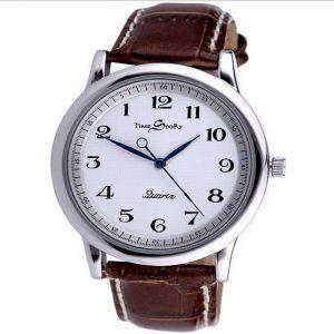 Klockor för par i retro stil med omvänd tid