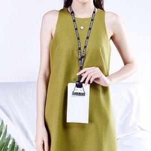 Women PU Transparent Phone Bag Wallet Purse Multifunction