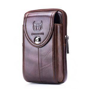 Bullcaptain Bag Herrväska för äkta läderbälte