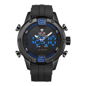 WEIDE WH7301 Silikon LED Sport Dual Display Digital Watch