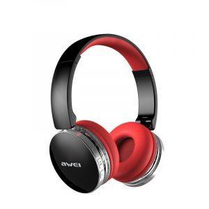 Awei A500BL Trådlöst Bluetooth-hörlurar Vikta CVC6.0 Brusreducerande stereohörlurar med mikrofon