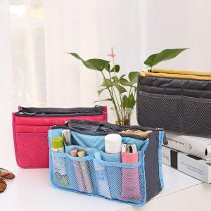 Women's Lady Travel Insert Handväska Organizer Purse Large Liner Organizer Tidy Bag
