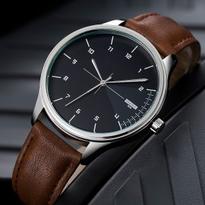 YAZOLE 502 Men Classic Simple Dial Quartz Watch