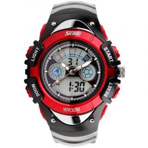 SKMEI 998 Fashion Children Dual Display Watch LED Multifunctional Boys Girls Sport Watch