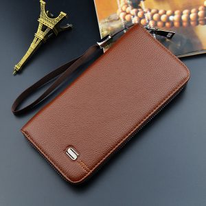 Men Business Multifunctional Wallet  5.5 Inches Phone Bag