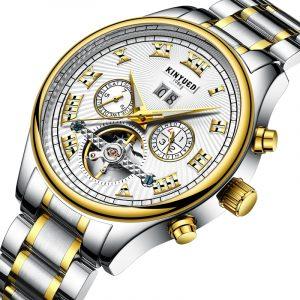 KINYUED JYD-J011 Rome Automatic Mechanical Men Wrist Watch