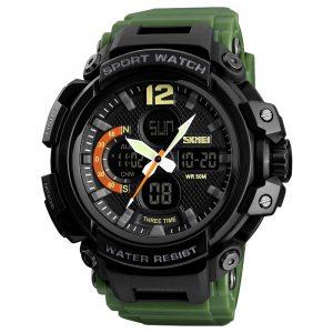 SKMEI 1343 Dual Display Chronograph Waterproof Digital Watch