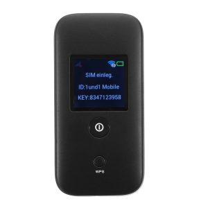 Bärbar Wifi 3G-router Trådlös mobil Wifi Hotspot HSPA / 3G / EDGE / GPRS-nätverk